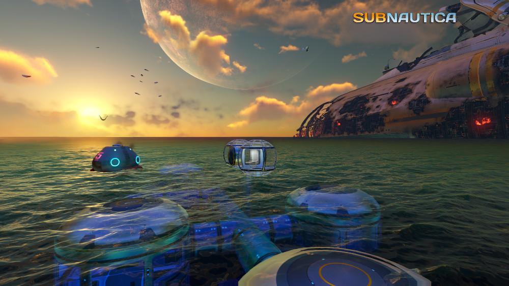 Subnautica early development screenshot
