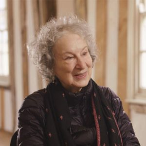 Margaret Atwood at Dragon Hall in Norwich