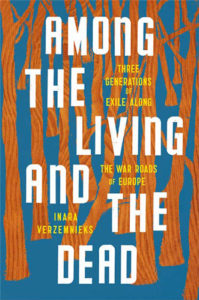 Among the Living and the Dead by Inara Verzemnieks book cover