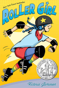 Roller Girl by Victoria Jamieson book cover