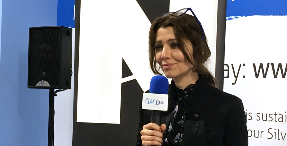 Elif Shafak at London Book Fair