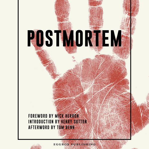 Front cover of the Postmortem anthology