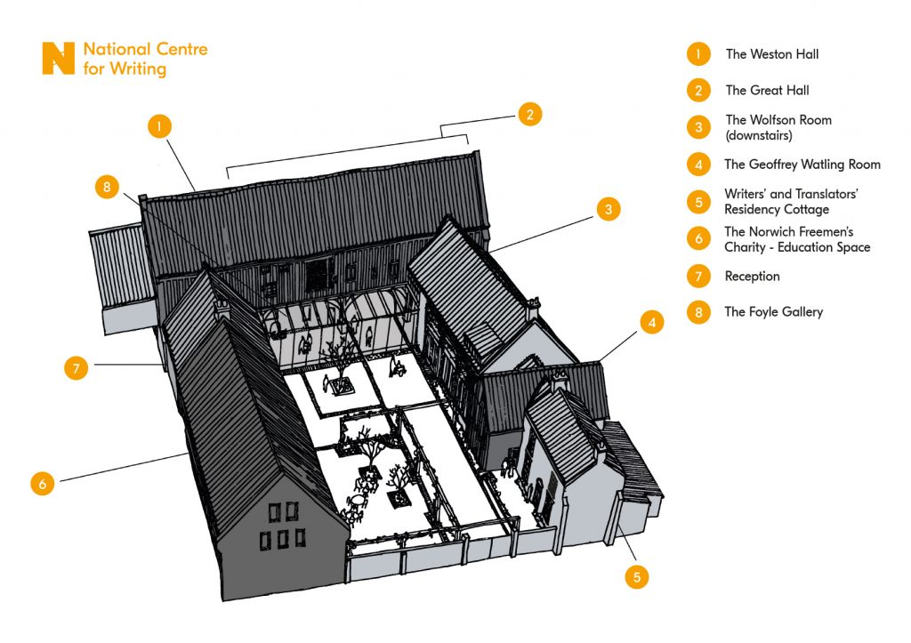 Map of Dragon Hall