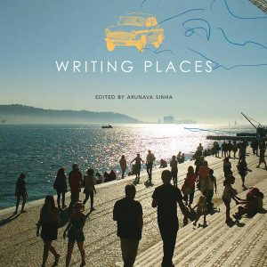 Front cover of the 'Writing Places' anthology