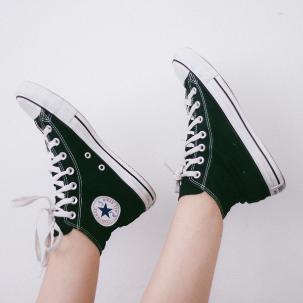 Pair of Converse shoes