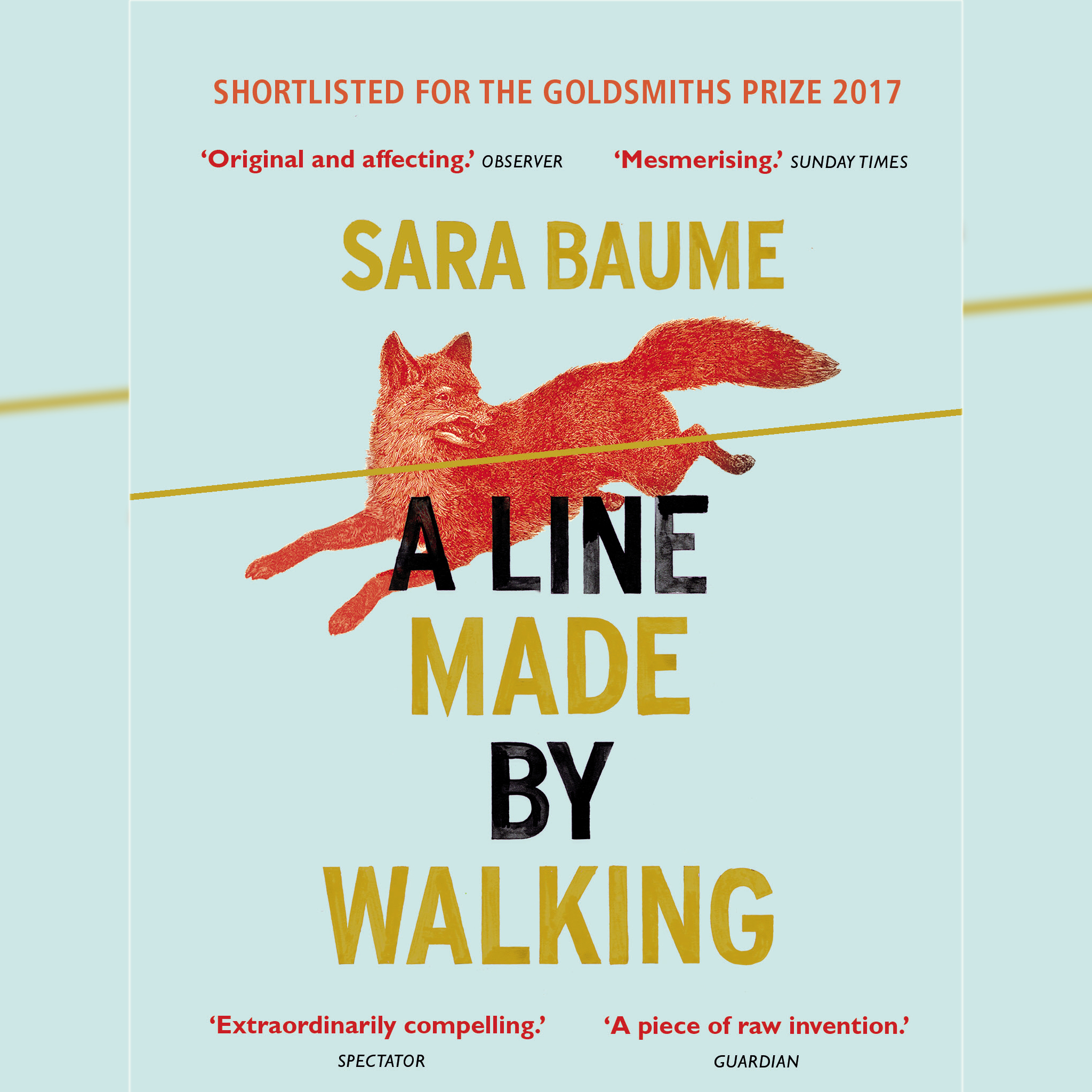 'A LIne Made By Walking' book cover