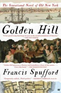 Book cover for 'Golden Hill'