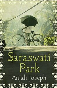 Book cover for 'Saraswati Park'