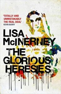 Book cover for 'The Glorious Heresies'