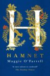 Book cover for 'Hamnet' by Maggie O'Farrell