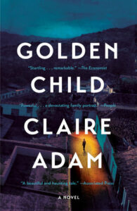 Book cover for 'Golden Child' by Claire Adam