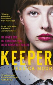Book cover for 'The Keeper'