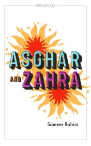 Book cover for 'Asghar and Zahra'